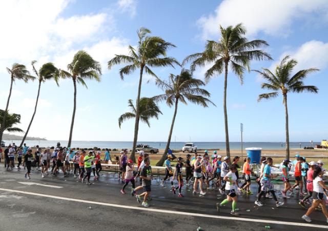 ホノルルマラソンに参加してハワイ旅行を一緒に満喫してみた