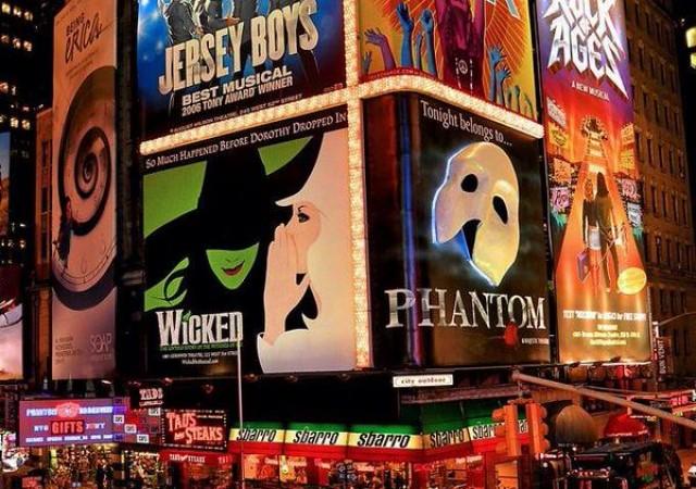 【ニューヨーク】人気ブロードウェイミュージカルの紹介