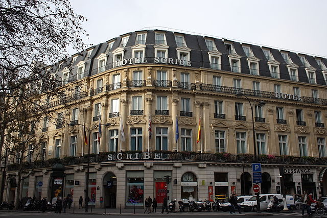 https://commons.wikimedia.org/wiki/File:Paris_9e_Hotel_Scribe_332.JPG#/media/File:Paris_9e_Hotel_Scribe_332.JPG